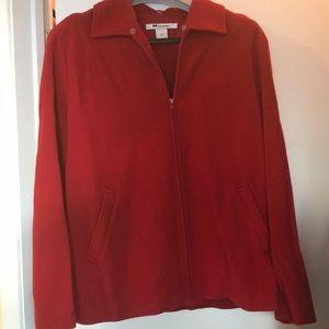 Wool, cashmere & nylon blend jacket